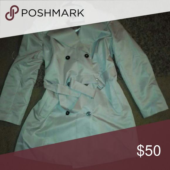 Beige Trench Coat Never worn. The Limited Jackets & Coats Trench Coats