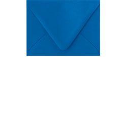 """A2 Envelopes - Paper Source - Royal blue - 4 3/8""""x 5 3/4"""" - $3.25/10 pack - RSVP card envelope"""
