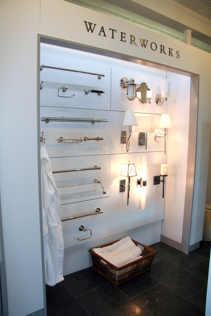 Waterworks Lighting And Accessories In Our Lexington Showroom See Our Showrooms Pinterest