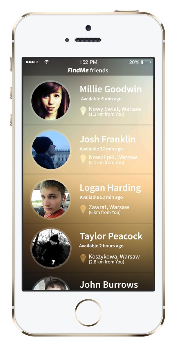 FindMe App Design
