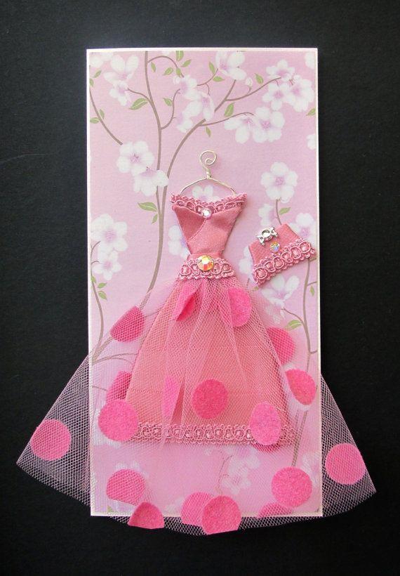 Открытка своими руками девочка в платье, картинка варкрафт