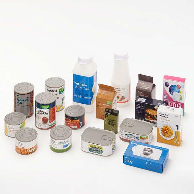 BuyJohn Lewis 18-Piece Waitrose Grocery Set Online at johnlewis.com