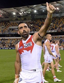 Goodes to return to training - sydneyswans.com.au
