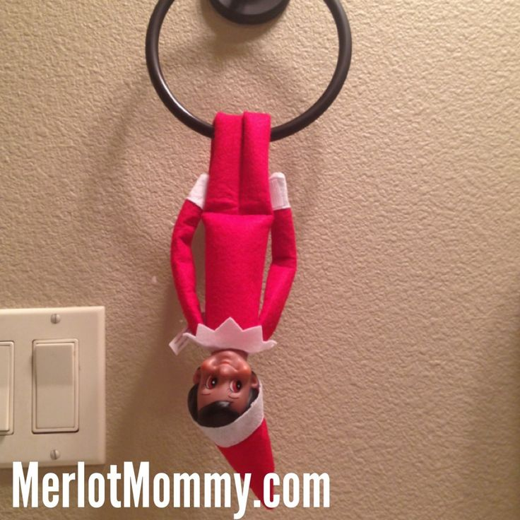Cute Elf on the Shelf Ideas (for Kids) - #elfontheshelf