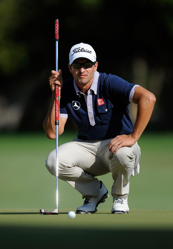 Adam Scott Uniqlo Golf Adamscott Uniqlo Sports