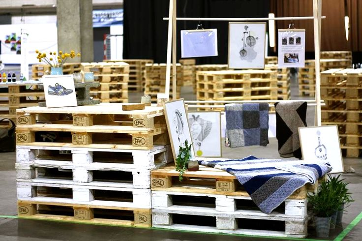 Sådan så nor:dens stand ud på messen. Takket være vores seje Retailhold fra TEKO i Århus
