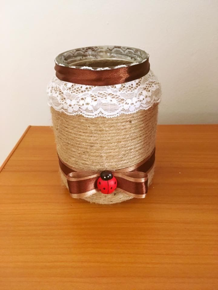 A little sweet jar #Jarhandmade #Coffe #Craft