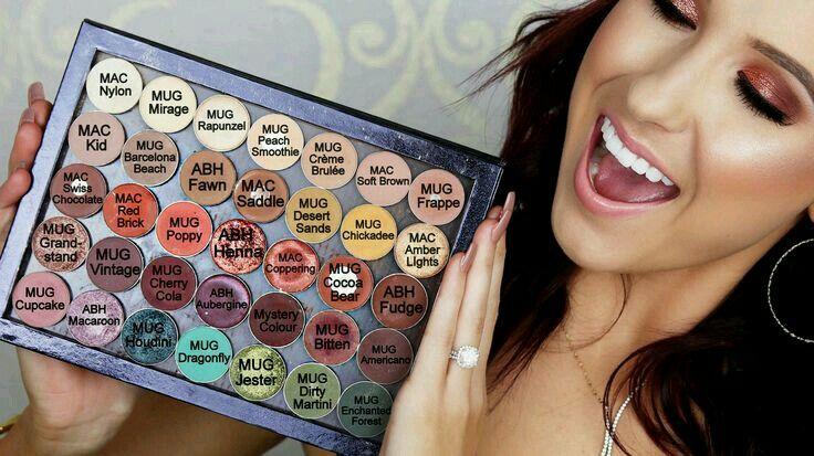 Jaclyn Hill's Favorite single eyeshadows......