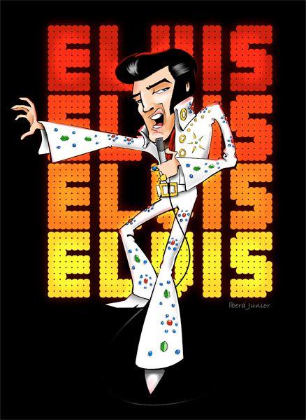 Elvis Presley By: Iberá Junior www.ibera.com.br