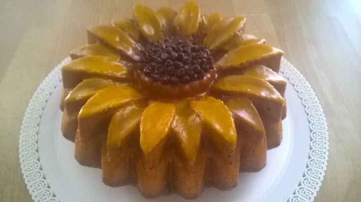 Torta girasole al limone