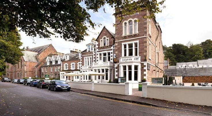 泊ってみたいホテル・HOTEL|イギリス>スコットランド・インヴァネス>ネス川のほとりに位置し、ネス湖から車で15分です。>グレン モール ホテル(Glen Mhor Hotel)