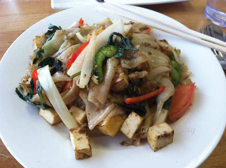 Vegan Options at Thai Essence West Lafayette, Indiana Purdue University