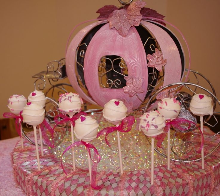 Cake Pops For Princess Party