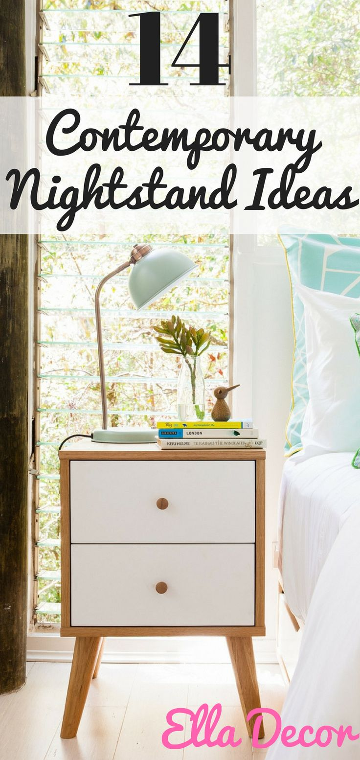 The Best 14 Contemporary Nightstand Ideas. Simple and yet innovative. Learn  these 14 amazing