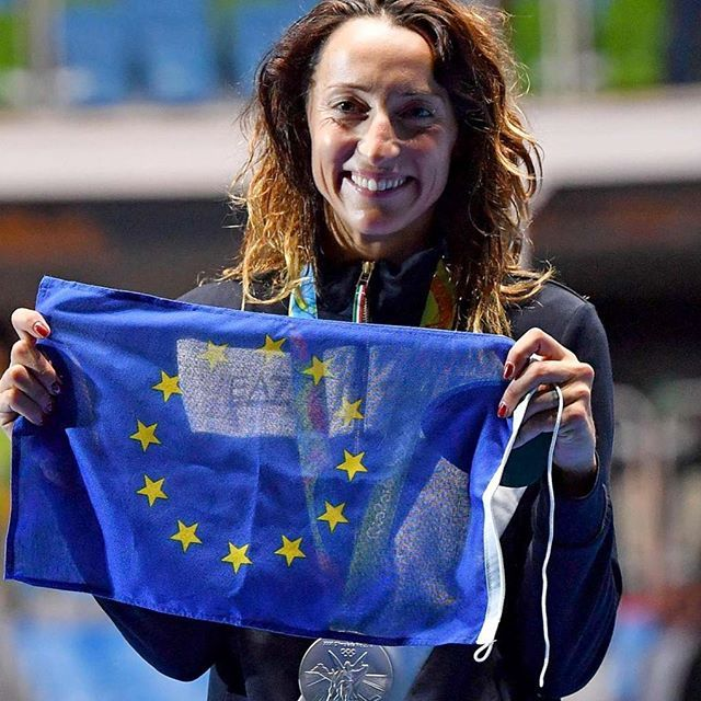 Have you made the count? #EU #athletes together would be on top of the #Rio2016 medal raking. Go #EU team, go ! Thanks and congratulations to Elisa Di Francisca @tuttaelisa #DiFrancisca ! #riodejaneiro #Brazil #stars #EUintheworld #Europe #EUflag #United #youth #fencing