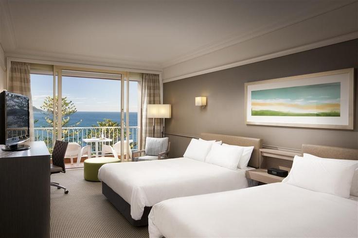 Twin Ocean View Room - Crowne Plaza Terrigal