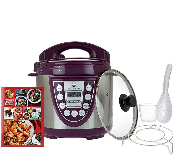 Everyday meals are made easy with the Cook's Essentials 4-qt pressure cooker. QVC.com