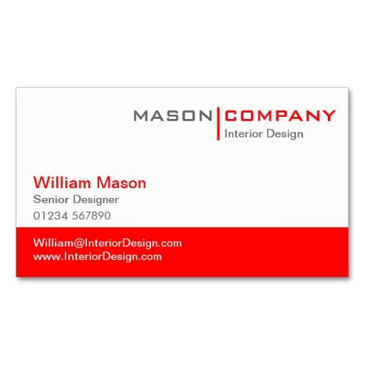 54 best red business cards images on pinterest business cards red white corporate business card reheart Choice Image