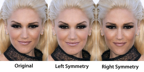 how to get a symmetrical face naturally