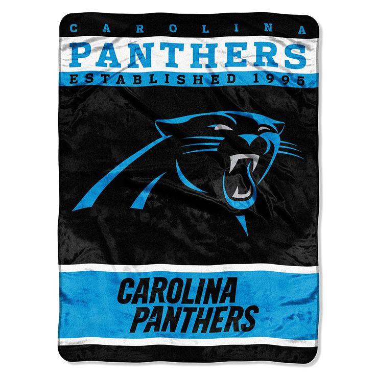 Fair Carolina Panthers 60×80 Blanket : Nfl Carolina Panthers Plush Raschel Blanket  X   Carolina Panthers 60x80 Blanket