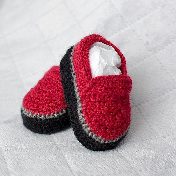 Chaussures de bébé garçon chaussures garçon par DaisyNeedleWorks