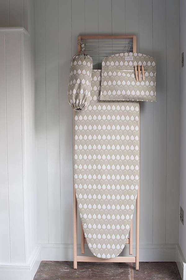 Matching set - or make it however you want it.  Ironing board cover, clothespin hanging bag, bag keeper