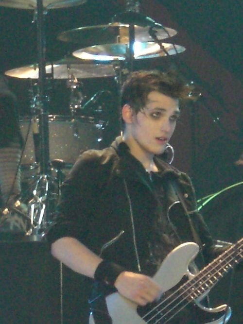 "Mikey Way - My Chemical Romance His facial exspressions!!!! I saw this pic somewhere else once. The caption said, ""So u think I'm sexy?"" I dont know what to say besides yes!!"