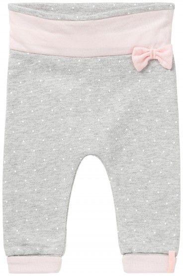 Kojenecké športové nohavice pre dievčatká NOPPIES - svetlo šedá