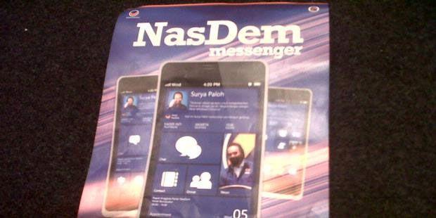 Perkenalkan NasDem Phone, Ponsel Android Buatan Partai NasDem