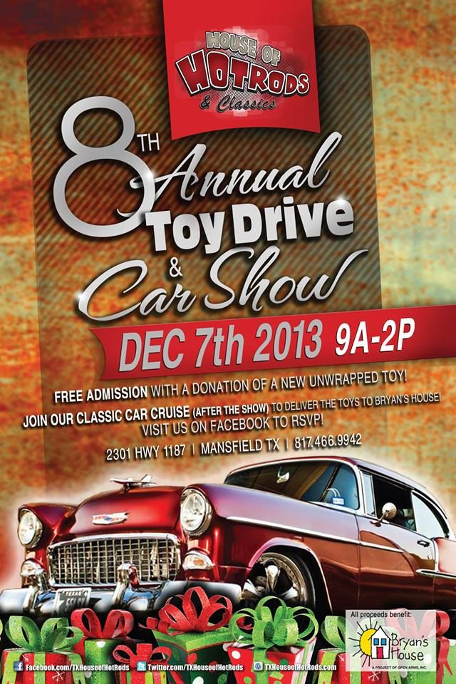 8th Annual Toy Drive and Car Show