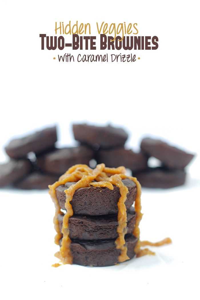 Hidden Veggies Two-Bite Brownies + a delicious and HEALTHY Back-To-School menu! // thehealthymaven.com