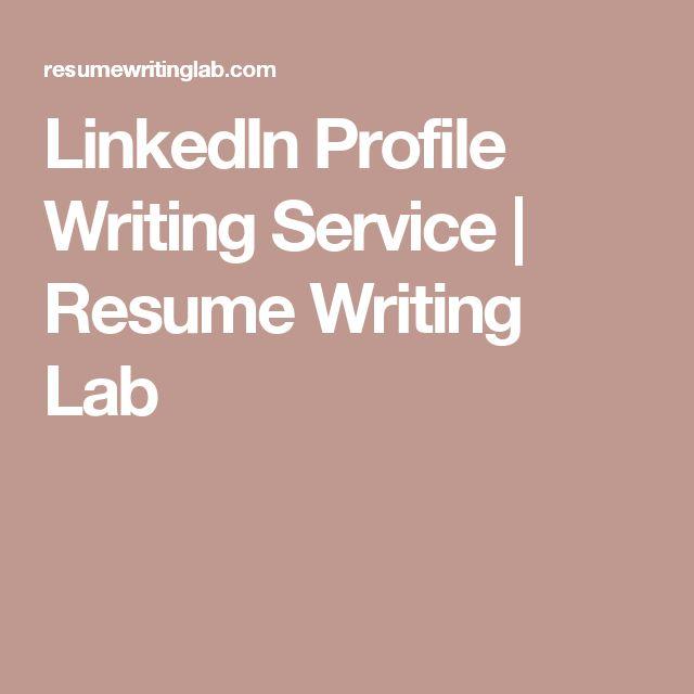 LinkedIn Profile Writing Service | Resume Writing Lab