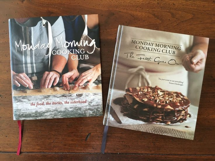 The Monday Morning Cooking Club is a group of Sydney-based Jewish women who aim to preserve such traditional family recipes, by presenting them in contemporary cookbooks.