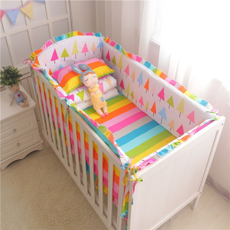 Cheap crib bumper, Buy Quality breathable bumper directly from China baby breathable bumper Suppliers: 	  			  					Bedding Kit Description:							 							6 pcs set include :    4&nbs
