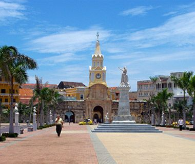 World's Most Beautiful Clock Towers: Torre del Reloj, Cartagena, Colombia