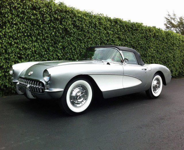 Fancy - 1957 Chevrolet Corvette Roadster ...Brought to you by House of Insurance Eugene Oregon