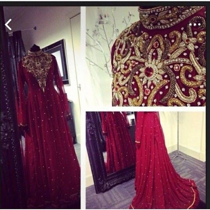 Gorgeous Walima Dress