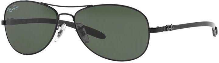 Ray-Ban Sunglasses, RB8301 59 Carbon Fibre
