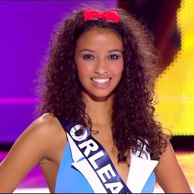 Flora Coquerel #Miss France 2014, d'origines Franco-Béninoise. La France à une belle Miss!