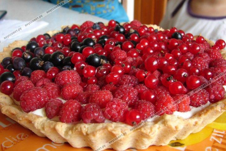 Ягодный пирог пошаговый рецепт с фото
