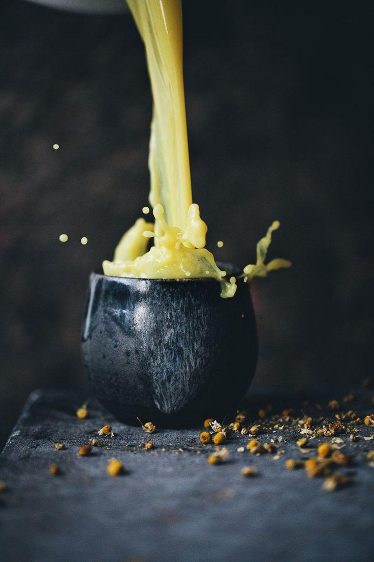 Chamomile and turmeric evening tea via Green Kitchen Stories