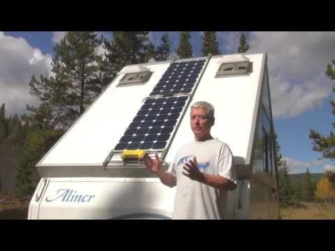 Adding Solar Panels to an Aliner - YouTube