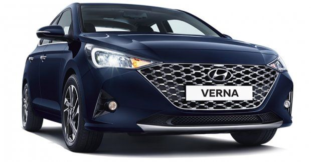 2020 Hyundai Verna Facelift Revealed Pre Booking Details Specs Features Variants Inside In 2020 Hyundai Sedan Honda City