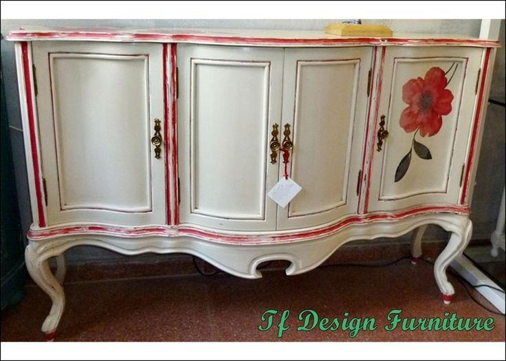 muebles pintados muebles de poca mueble de entrada blanco consola vintage consola