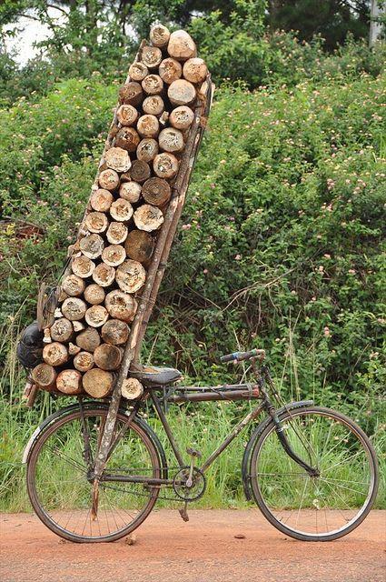Impressive work bike.