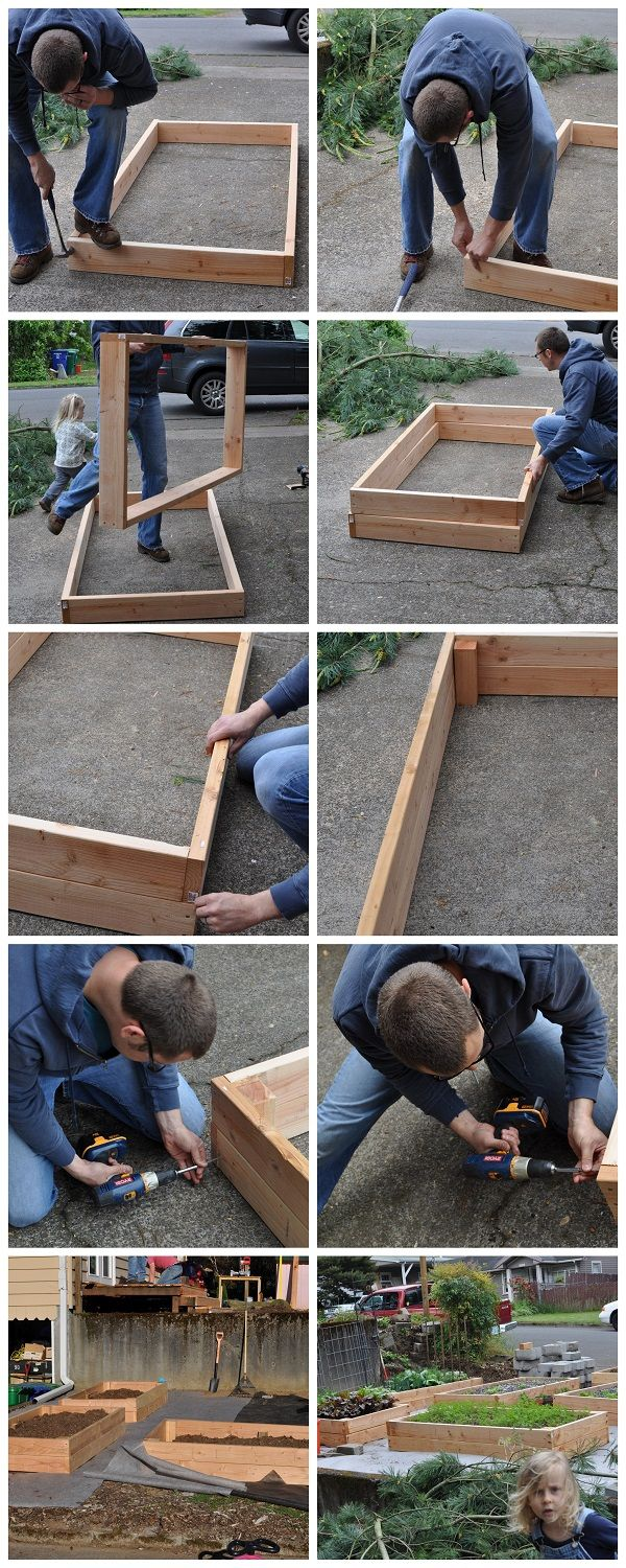 Easy to make raised Garden Beds. Materials for 1 - 6' x 12' x 12'' raised bed is only $30.00 Available at Masstown Hardware