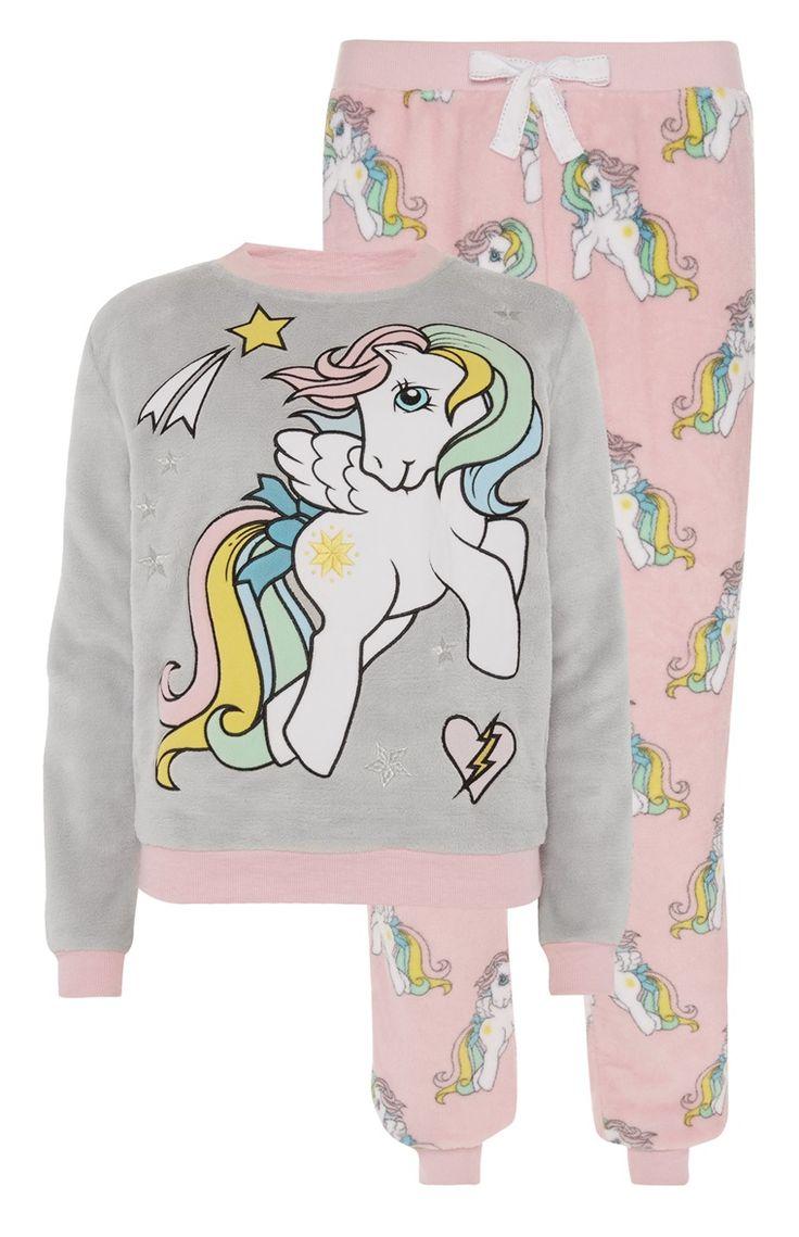 Primark - My Little Pony Sherpa PJ Twosie