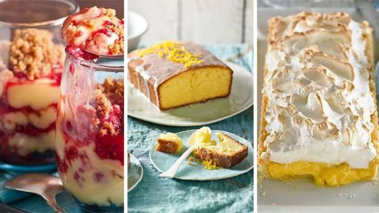 Citrus dessert recipes