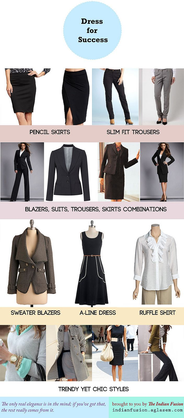 Power dressing! Women's workplace fashion guide