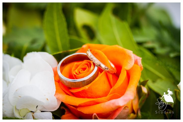 Beautiful gold and sliver wedding rings!